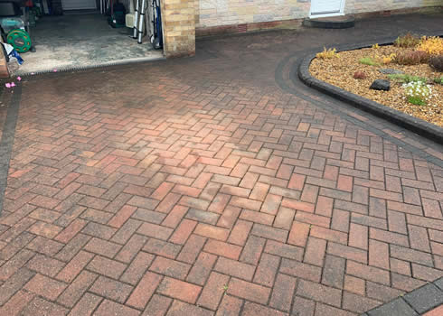 cleaning block paving bolton