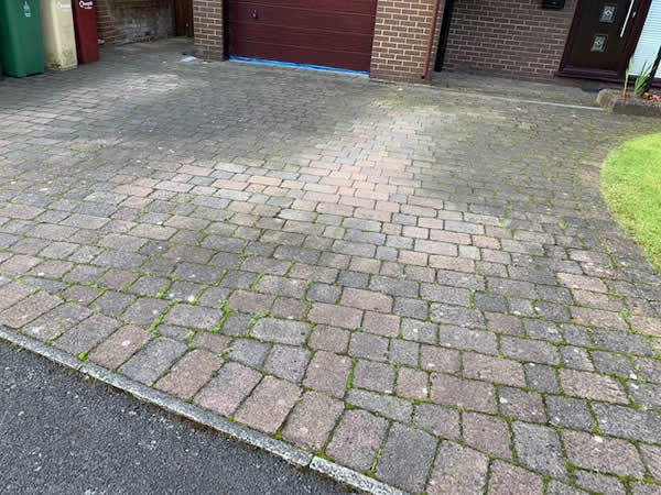clean block paving bolton