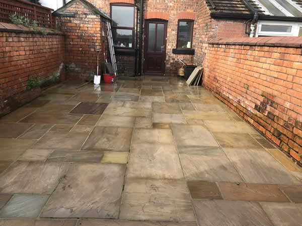 back yard flag cleaners bolton